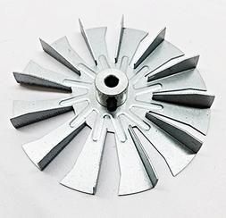 """3-21-00661 - HARMAN Fireplace Fan Blade, 4 3/4"""" Single Paddl"""
