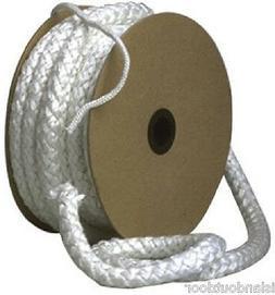 LavaLock 1,000 deg Fiberglass Gasket rope Tetraglass wood pe