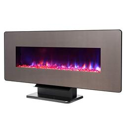 "Fireplaces New 3-n-1 48"" Freestanding Wall Mount Electric In"