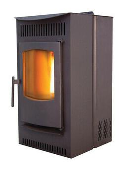 Castle 12327 Serenity Wood Pellet Stove with Smart Controlle