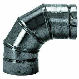 Selkirk 243230 3-Inch Pellet Stove Vent 90-Degree Elbow