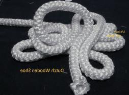 """3/4 in 3/4"""" White  Gasket rope Enviro & Vista Flame Pellet S"""