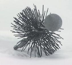 3'' Round Pellet Stove Brush