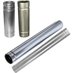 """Duravent 3"""" x 36"""" Stainless Straight Stove Pipe SD3036"""