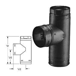 DuraVent 3PVP-TB Type L 3 Inch PelletVent Pro Vent Pipe Tee;