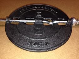"Imperial 5"" Cast Iron Flue Damper Stove Pipe Pellet Wood Gas"