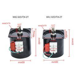 60/68KTYZ 220V AC Synchronous Motor Permanent Magnet 14W/28W