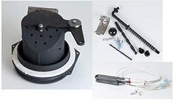 Quadrafire 800 Pellet Burn Pot Kit - 812-3281 G