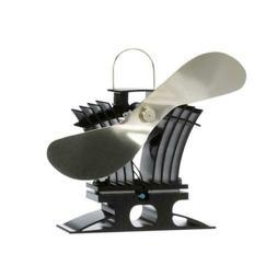 Ecofan 806CABBX BelAir Heat Powered Gas or Pellet Stove Fan,