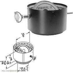 Chimney 69188 8 in. Dura-Vent DVL Double-Wall Stove Adaptor