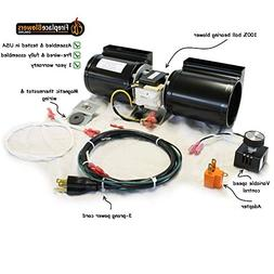 GFK-160 Fireplace Blower Kit for Heat N Glo, Hearth and Home