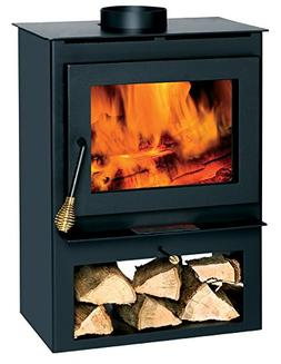 Summers Heat 50-SVL17 Wood Burning Stove With Blower Window