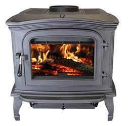 Ashley AC1100 Cast Iron Black Wood Stove