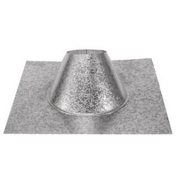 DuraVent Adjustable Roof Flashing Pellet Vent Stainless Stee