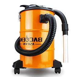 BACOENG Standard 5.3 Gallon 10Amp Ash Vacuum Cleaner with Do