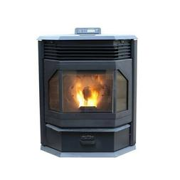Cleveland Iron Works Bay Front Pellet Stove w/Smart Home Tec
