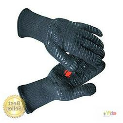 BBQ Gloves Extreme Heat Resistant for Baking, Smoking, Cooki