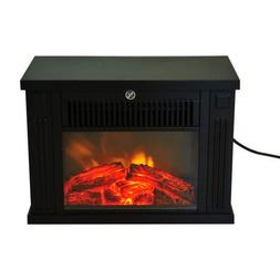 Fireplaces New Black,Portable Electric Free Standing Tableto