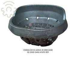 Brazier cast iron parts for pellet stove King Hydro 20 dimen