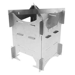 camping wood stove survival foldable
