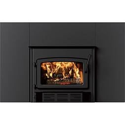 Century Wood Burning Fireplace Insert with Blower and Surrou