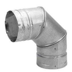 Chimney Pellet 90 Degree Stove Fireplace Vent Pipe Elbow 3 I