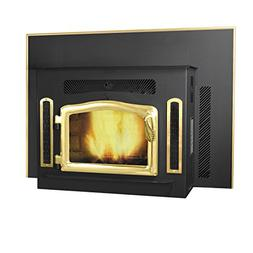 Magnum Classic Black Country Flame Crossfire Wood Pellet Fir