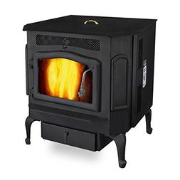 Magnum Classic Black Country Flame Harvester Pellet/Corn and