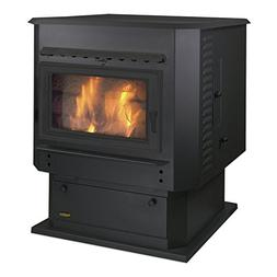 Magnum Classic Black Grand Countryside Wood Pellet Stove 56,