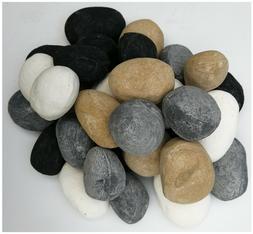 Colorful Ceramic Stone-like Pebbles For Gas Ethanol Fireplac