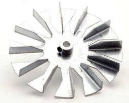 """Combustion Exhaust Motor Fan Blade, 5"""" Paddle - Fits Hundred"""
