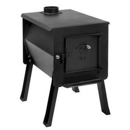 2.7 Cu.Ft. Compact Survivor Grizzly Portable Camp Wood Stove