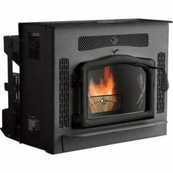 Crossfire Flex-Fuel Stove with Fireplace Insert and Black Do