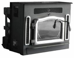 Crossfire Flex-Fuel Stove with Fireplace Insert & Brushed Ni