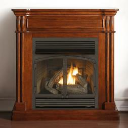 Duluth Forge Dual Fuel Vent Free Fireplace - 32,000 BTU, Rem