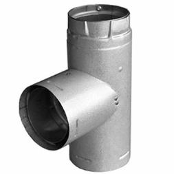 Dura-Vent 4PVP-T 4 PelletVent Pro Galvalume Single Tee with
