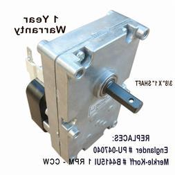 Englander Pellet Stove Auger Motor    W/HOLE - HEAVY DUTY