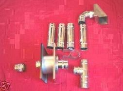 FLUE EXHAUST KIT for WOOD PELLETS and CORN PELLET STOVE FURN