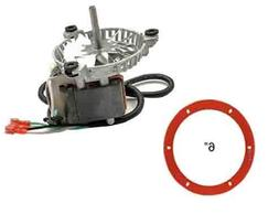 Harman Combustion Exhaust Fan Motor for Pellet Stoves W/Sili