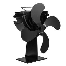 Heat Powered Wood Fireplace Stove Fan for Gas Pellet Ventila