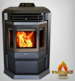 Comfortbilt HP22 Carbon Black Pellet Stove Fireplace 50000 B