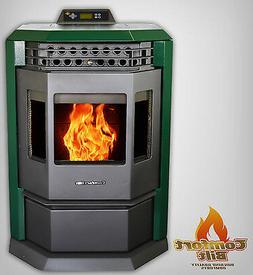 Comfortbilt HP22 Pellet Stove/Fireplace 50000 btu-Green! - S