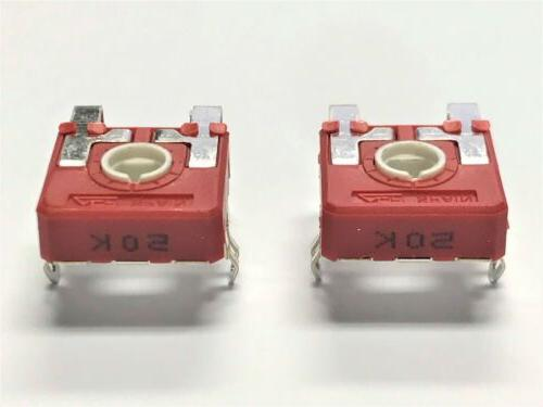 2 Stove Control Potentiometers for