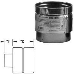 """244240 4vp-Pc 4"""" Pellet Stove Pipe Connector"""