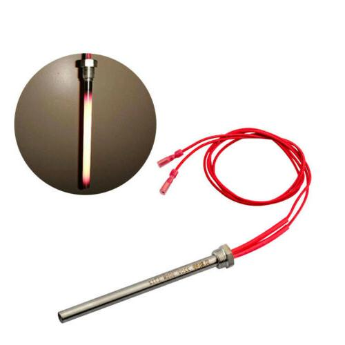 300/350W Igniter Hot Rod Wood Pellet Heating Tube for Firepl