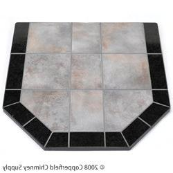 Chimney 49210 Night Shadows Tile Double Cut Stove Board- 40
