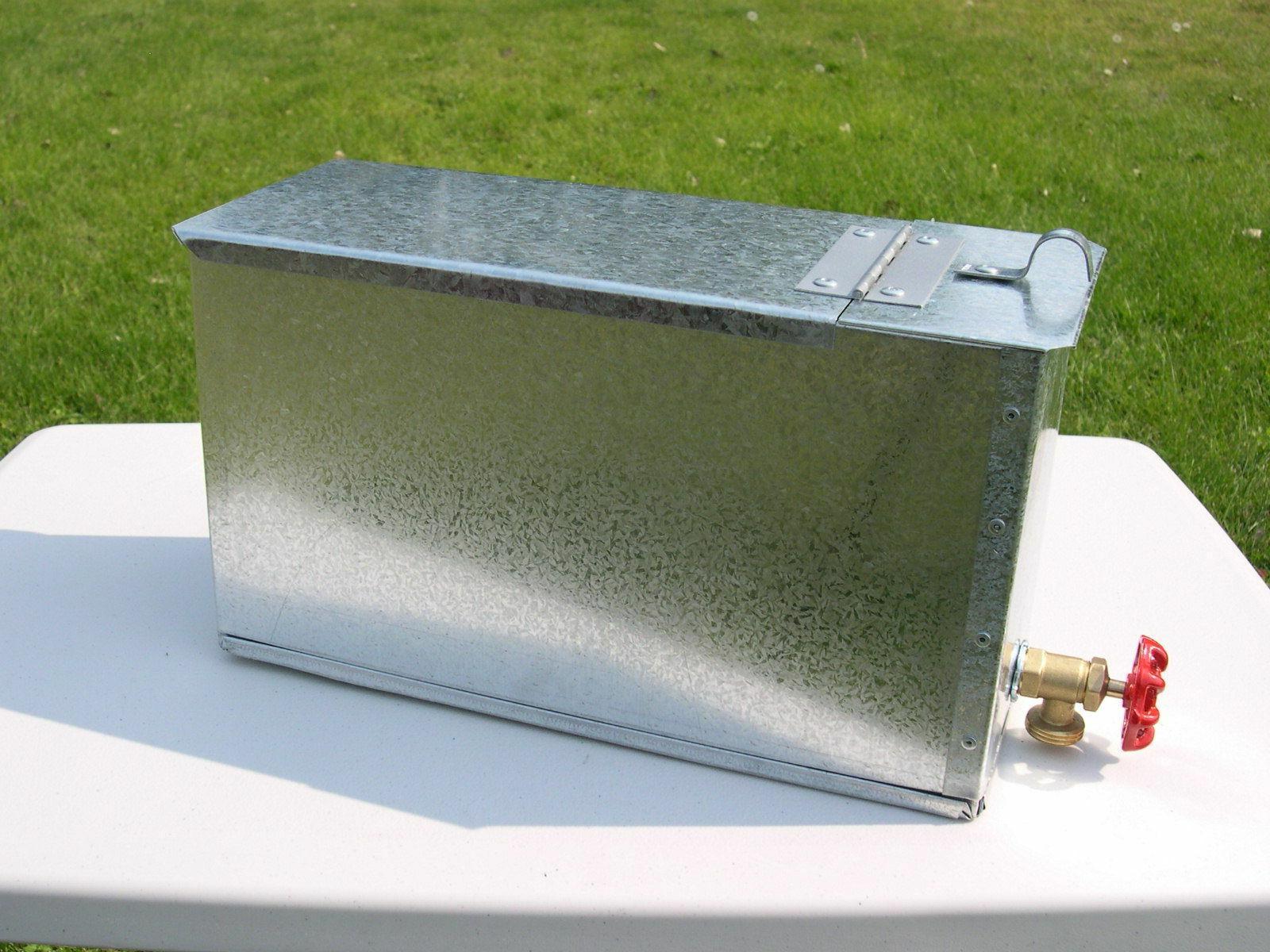6 gallon water tank wood or pellet