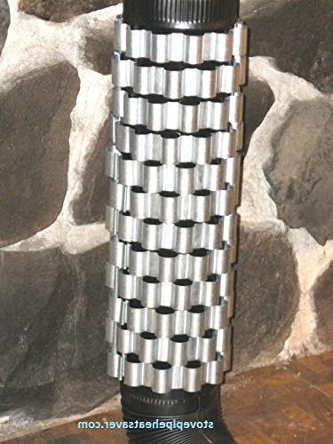 Detex Heat Reclaimer/Radiators for Dia. Pipe. Flue/Stack