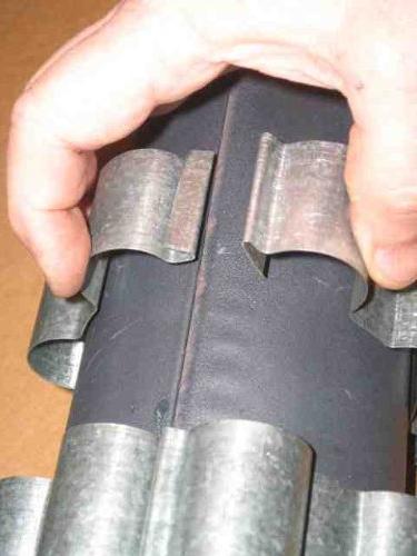 Detex Reclaimer/Radiators 6 inch Dia. Wood Flue/Stack
