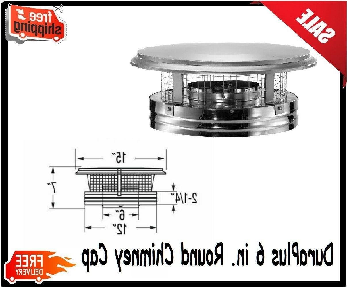 Dura Vent DuraPlus 9284 8-Inch Chimney Cap
